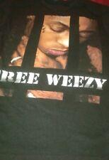 Li'l Wayne Free Weezy Graphic T-shirt Locked Up Sz M