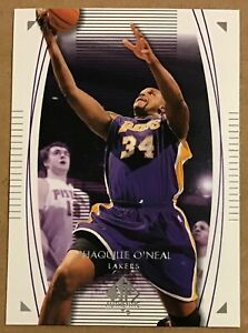 2003-04 SHAQUILLE O'NEAL UPPER DECK SP AUTHENTIC CARD #38 LOS ANGELES LAKERS