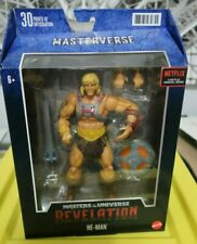 He-Man Masters Of The Universe REVELATION MOTU Action Figure Netflix Mattel