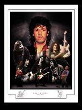 More details for gary moore montage print