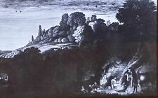 """""""Aurora"""", Jan van de Velde II, Magic Lantern Glass Art Slide"""