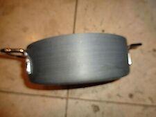 Commercial Aluminum Cookware 2 Qt Saute Pan  Anodized 5002 Lid 308