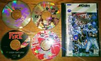 *Lot of 5* SEGA SATURN GAMES | Black Fire / Nights Demo | AS-IS / PC Tested Only