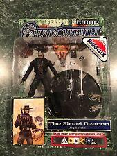 Shadowrun THE STREET DEACON Vigilante Figure Hero Clix Wiz Kids Toys *BRAND NEW