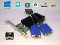 Dell Optiplex 3020 7020 9020 NVIDIA NVS 300 Dual VGA Monitor Video Graphics Card