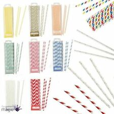 Christmas Paper Straws Party Tableware & Serveware