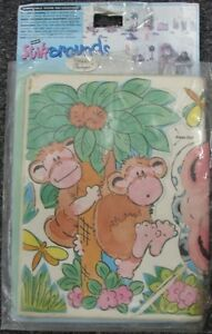 Stickarounds Kids Wall Stickers Jungle Animals