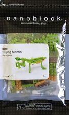 Praying Mantis Nanoblock Miniature Building Blocks New Sealed Pk 58168