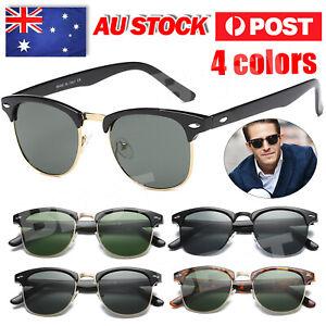UV400 Photochromic Polarised Polarized Sunglasses Fishing Driving Eyewear Retro