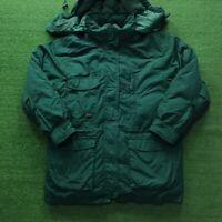 Vintage Eddie Bauer Goose Down Hooded Exploration Parka Jacket Coat Women's M