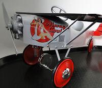 Air plane Pedal Car WW1 SLR Vintage Metal Collector >>READ FULL DESCRIPTION PAGE