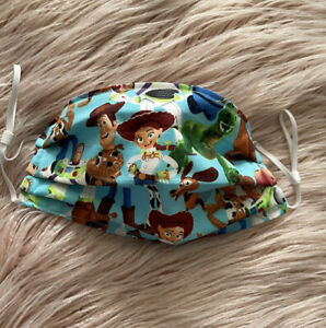 Face Mask With Filter Pocket Toy Story Childs Small