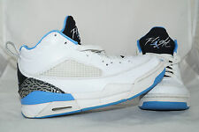 Nike Air Jordan FLIGHT 9.5 (GS) Gr: 38,5 Weiss Blau Basketball
