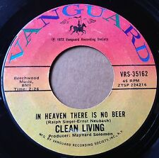Clean Living 45 In Heaven There Is No Beer / Backwoods Girl