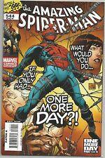 Amazing Spider-Man #544 : Marvel comic book : November 2007