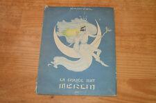 Livre ancien conte La grande nuit de Merlin, Samivel, 1943, éditions IAC, 36 p.,