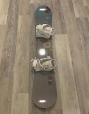Burton Rise Snowboard 154 -  W/Bindings - Womens Adult