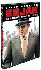 Kojak Telly Savalas 1970's TV Series Complete Movie Collection Box / DVD Set NEW