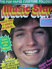MUSIC STAR MAGAZINE 19TH MAY 1973 - DAVID CASSIDY - OSMONDS - RORY GALLAGHER