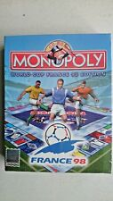 Monopoly World Cup France 98 Edition  PC New and SEALED Big Box Edition
