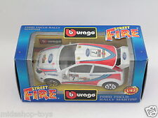 [PG3-20]RARE BBURAGO BURAGO 1/43 STREET FIRE #4128 FORD FOCUS RALLY MARITINI NEW