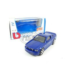 1/43FORD MUSTANG USA GT COUPE 2004 AZUL BLUE BURAGO