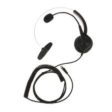 VH530 Call Center Telephone IP Phone Monaural Headset with Mic RJ9 Connector
