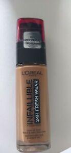Fond de teint L'Oréal Infaillible 24h fresh Wear 320 caramel Neuf scellé