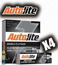 Autolite APP646 Double Platinum Spark Plug - Set of 4