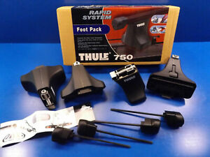 Thule Foot Pack Rapid System 750 X4 for vehicles without drain