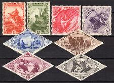 Tanna Tuva / Touva - 1934 Definitives views / Registered - Mi. 41-48 MH