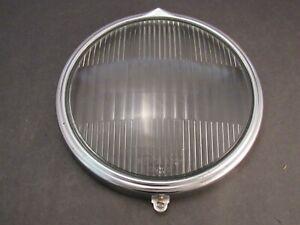 Original 1932 Buick Headlight Lens and Rim Guide Tiltray Headlamp
