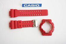 CASIO New G-Shock Original GA-110FC-1A Red BAND & BEZEL Combo GA-100B-4A GA-100