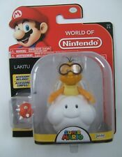 "World of Nintendo LAKITU 4"" ACTION FIGURE Jakks Pacific NOT amiibo"