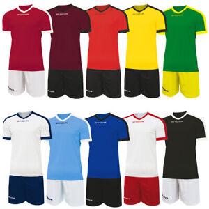Givova Kit Revolution Fußball Teamwear Trainings Trikot mit Short KITC59 neu