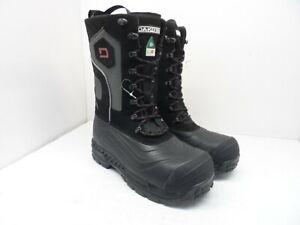 DAKOTA Women's Composite Toe Composite Plate Felt Pack Winter Boots Black/Red 7M
