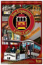 San Francisco Cable Cars DVD Digipak Documentary Trains Rail Transport Grip MUNI