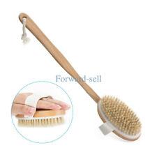 Detachable Long Handled Back Brush Bath Shower Body Dry Skin Spa Scrubber Brush