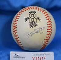 Miguel Tejada Jsa Coa Signed American League Oal Baseball Autograph Authentic