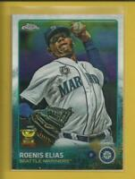 Roenis Elias 2015 Topps Chrome All Star Rookie Card # 20 Boston Red Sox Baseball