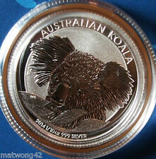 **HOT ITEM** AUSTRALIA 1/10 oz Koala Fine PURE Silver .999 Coin - 2014 10 cents
