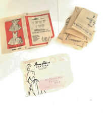 VINTAGE 1947 Anne Adams GIRL'S 4546 DRESS SEWING PATTERN~Size 6 COMPLETE!