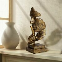 Statue Silence Resin Abstract Nordic Sculpture Figurine Home Decoration Modern