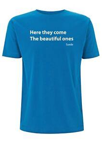 Suede Beautiful Ones Song Lyrics T Shirt Coming Up Album Brett Anderson