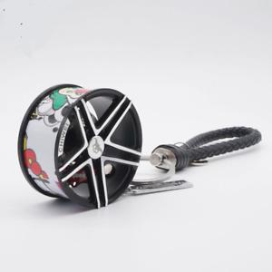Luxury Alloy Wheel AMG Like Keychain Keyring Key fob TOP QUALITY KC8