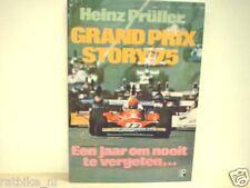 GRAND PRIX STORY 75 Heinz Prüller, F1, FORMULA ONE NIKI LAUDA
