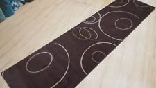 Unique Brown Runner, Quality Hall runner, Turkish made, SIZE: 80 x 300cm