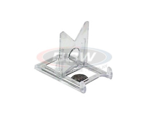 (5 Pack) BCW 2-Piece Clear Adjustable Card Stands - Put Your Cards On Display!