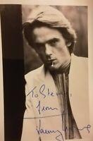 Jeremy Irons signed photo (AFTAL Approved Dealer)