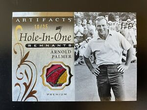 2021 Upper Deck Artifacts Hole-in-One Remnants Premium 10/25 Arnold Palmer Patch